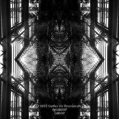 Jaula de Palmeras. 3/4. Carlos De Vasconcelos. CMDVF. #CarlosDeVasconcelos #CMDVF #Diseño #Ilustración #Arte #Artista #BlancoyNegro #Jaula #Palmera / #Design #Illustration #Art #ArtWork #Artist #BlackAndWhite #bw #bnw #Cage  #Palm Louvre, Black And White, Building, Illustration, Travel, Design, Palm Trees, Blanco Y Negro, Artists
