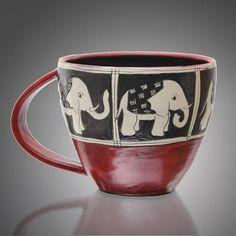 """""""Round Elephant Mug"""""""