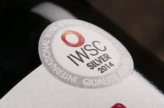 A close up of our IWSC medal - thanks Multilabels #wine
