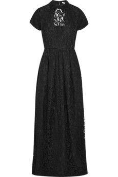 Carven Guipure lace maxi dress | NET-A-PORTER