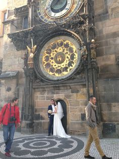 Beautiful, had to take a picture! #wedding #prague