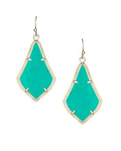Alex Earrings in Teal - Kendra Scott Jewelry.