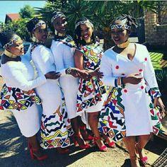 African Bridal Dress, African Wedding Attire, African Attire, African Dress, African Clothes, Zulu Traditional Attire, Traditional African Clothing, Traditional Wedding Attire, Tsonga Traditional Dresses