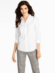 Talbots - The Perfect Long-Sleeve Shirt | | Misses Discover your new look at Talbots. Shop our The Perfect Long-Sleeve Shirt for stylish clothing and accessories with a modern twist at Talbots