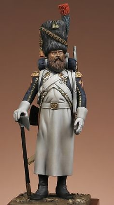 sapper of chasseurs of Imperial guard, D.Ipperti