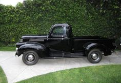 Steve McQueen's 1941 Chevy pickup -     (for sale on eBay Motors, AT $ 25,000 and hasn't even hit the Reserve Price Yet)