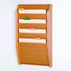 Desk Supplies>Desk Set / Conference Room Set>Holders> Files & Letter holders: 4 Pocket Letter Size File Holder