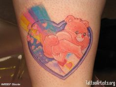 images of tattoos carebears | Care Bear - Tattoo Artists.org