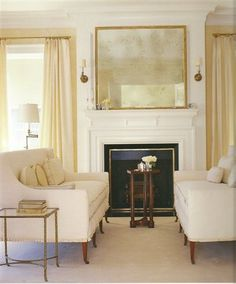 LOVE this living room!! Neutral perfection <3