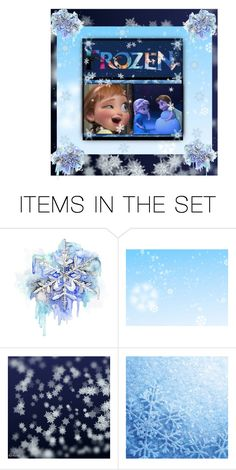 """""""Wanna Build A Snowman ?"""" by sweetdreamer24 ❤ liked on Polyvore featuring art, disney, frozen, anna, artset and elsa"""