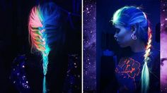 It's time to take your rainbow locks to the next level! Thanks to the NYC based cosmetic company Manic Panic, creative souls can add a bit of cosmic magic to their hairdo with dye that glows under black light. With these new dye options, your hair is sure to light up the next party you attend!  T...