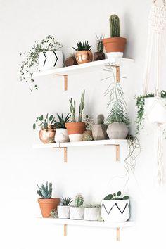 Geometric Air Plant / Succulent Pots Set of 3 Concrete