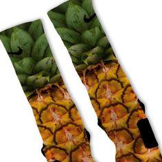 Pineapple Pina Colada Custom Nike Elite Socks