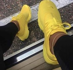 New Nike Presto Running Shoes Sneakers Shoes, Nike shoes, Nike yellow nike shoes - Yellow Things Hype Shoes, Women's Shoes, Me Too Shoes, Shoe Boots, Shoes Style, Louboutin Shoes, Flat Shoes, Converse Shoes, Girls Shoes
