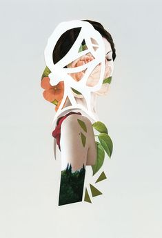 <p>You know by now that we are crazy about collages & mixed media and Spanish artist Rocio Montoya has some pretty amazing ones! Her interest is particularly focused on the experimental portrait,