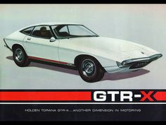 Holden was very serious about putting the Torana GTR-X into production as the company built several prototype models and even went as far as making a promotional film on the car only to pull the plug at the last minute amidst concerns on the financia. General Motors, Pontiac Banshee, 240z, Holden Torana, Diesel, Australian Cars, Car Brochure, Retro Futuristic, Performance Cars