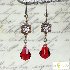 BelloModo.com Romantic Candlelight Dinner Earrings!