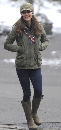 Love this look on Kate Middleton