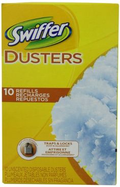 Swiffer Dusters Disposable Cleaning Dusters Refills Unscented 10 Count (Pack Of 3), 2015 Amazon Top Rated Dust Mops & Pads #HealthandBeauty