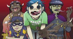 How Blur frontman Damon Albarn and comic artist Jamie Hewlett evolved into a cartoon simian rock band