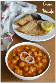 Chana Masala Recipe #Indian #dinner #healthy || This recipe uses fresh, pressure-cooked garbanzo beans (chickpeas), but don't hesitate to use canned ones to save some time.