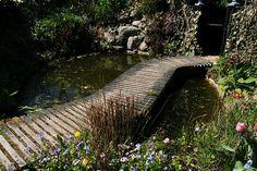 Lindas trädgårdsblogg | trädgård - trädgårdsprojekt - trädgårdsdesign: Vatten i Anne Justs trädgård