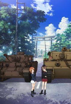 Girls und Panzer: Nishizumi Miho(+Nishizumi Maho)