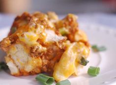 Bubble Up Enchiladas (Main Dish)  Use ground turkey to keep healthy and add in black beans to add a bit of variety.
