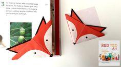 Origami Marvelous Origami Fox Instructions: Fox Crafts   Easy Origami Bookmark    Origami Fox Face Instructions Origami Fox Instructions Easy