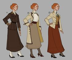 ArtStation - Bioshock Infinite - The Lutece Twins, Claire Hummel Irrational Games, Bioshock Art, Bioshock Series, Character Inspiration, Character Design, Character Ideas, Fallout New Vegas, Fallout 3, Ligne Claire