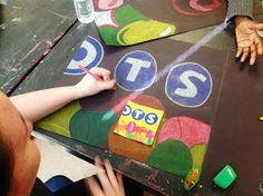 Artful Artsy Amy: Pop Art Candy Wrappers and Prang Product Review