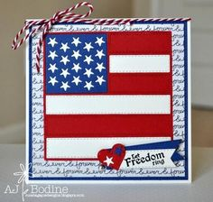 QUILT DIE AMERICAN FLAG DIE - Gina Marie Designs American Flag Quilt, Military Cards, Crafts For Seniors, Senior Crafts, Forever, Tim Holtz, Scrapbook Pages, Scrapbooking, Fourth Of July