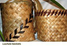 Lauhala Baskets