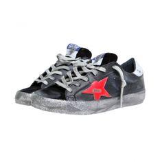 Golden Goose - Black Superstar Sneakers