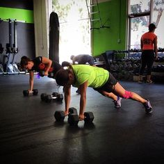"""Today's renegade rows. Normal schedule all day tomorrow and Saturday. Happy 4th of July weekend. #crossfit #fit #fitness #exercise #lift #gym #sancarlos #strong #strength #wod #workout #igdaily #igers #health #hgx #HomeGrownCrossfit #HGXFIT"" Photo taken by @hgxfit on Instagram, pinned via the InstaPin iOS App! http://www.instapinapp.com (07/02/2015)"