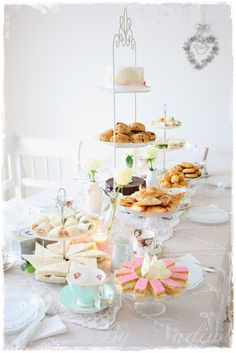Luxurious high tea. Wow. To do with the girls!