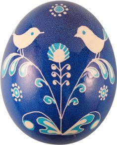 Pysanka with bird motif from Ukrainian Gift Shop