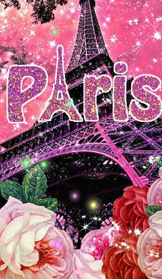 Torre Eiffel Paris, Paris Eiffel Tower, Tour Eiffel, Paris Wallpaper, Glitter Wallpaper, Flower Wallpaper, Paris Room Decor, Paris Theme, Beautiful Paris