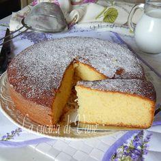 Torta sette bicchieri al latte, ricetta facile per torta senza bilancia ,torta soffice genuina senza burro con video ricetta, buona per merenda e colazione