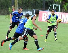 Clube de Regatas do Flamengo - Treino do futebol profissional - CT de Vargem Grande -26-09-2013