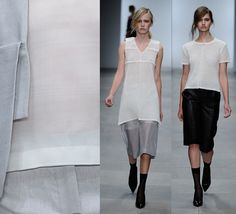 It was a holy spirit at Ann-Sofie Back's SS/2012.