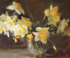 I Cannot Sleep, Oil Painters, First They Came, Creative Gifts, Daffodils, Old Photos, America, Floral, Blog