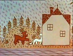 O pejskovi a kočičce: O pyšné noční košilce Advent Calendar, Childhood, Retro, Holiday Decor, Infancy, Advent Calenders, Retro Illustration, Childhood Memories