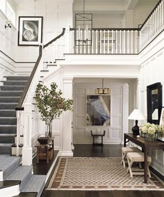 House Floor Plan - Priority Wishlist - foyer separated from living room, sta. -New House Floor Plan - Priority Wishlist - foyer separated from living room, sta. House Design, Small Entryways, House, Building A New Home, Cheap Decor, House Flooring, Foyer Decorating, Home Decor, House Floor Plans