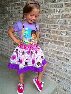 (9) Name: 'Sewing : Girl's Rachel Skirt Pattern