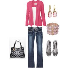 Pink/Black.