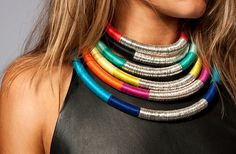 Zowie Accessories - Collections, African inspired necklaces by Australian designer Zoe Gleitzman.