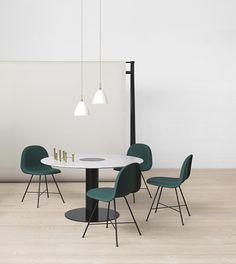 GUBI - Gubi Table 2.0, Gubi Chair and Bestlite http://decdesignecasa.blogspot.it