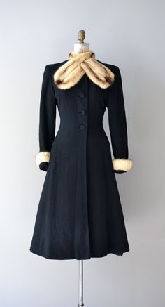 1930s princess coat