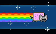 Nyan Cat Background by HeadPikachu on DeviantArt